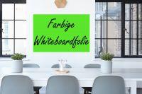 Selsbtklebende, farbige Whiteboardfolie | Viele Farben