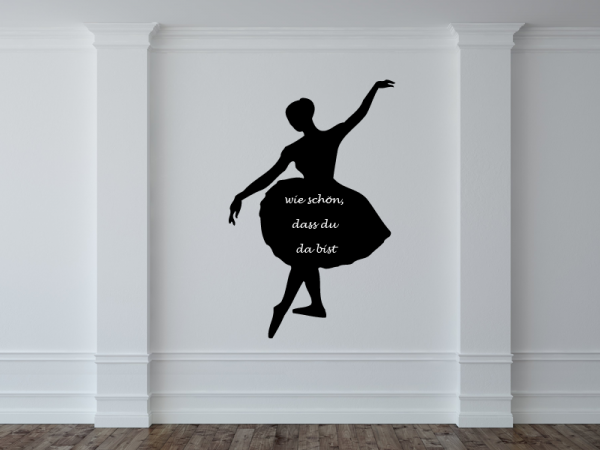 Tafelfolie Ballerina