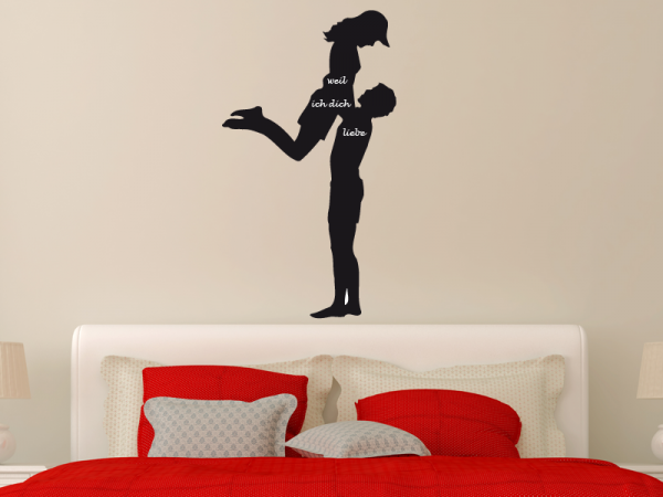 Tafelfolie Paar | Liebespaar