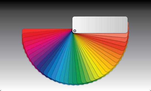 Bunte Whiteboardfolien werden in vielen Farben angeboten